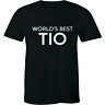 World's Best Tio T-shirt Funny Hilarious Greatest Ever Award Uncle Men Tee Shirt