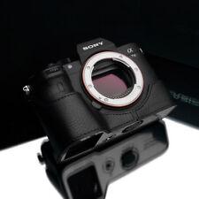 Gariz XS-CHA7M3BKO Genuine Leather Half Case for Sony A7RIII A7III Black