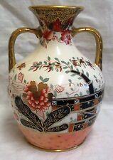 "10"" Royal Crown Derby? Two Handled Vase"