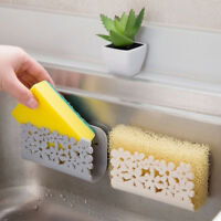 Kitchen Suction Sponge Holder Clip Rag Storage Rack Sponge Rack Dish Cloth Rack
