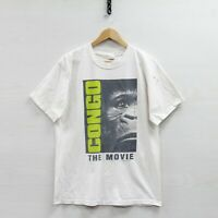Vintage 1995 Congo The Movie Paramount Pictures T-Shirt Size Large 90s Promo Tee