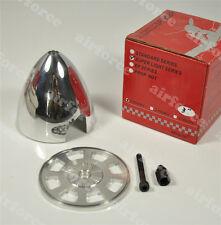 CNC Aluminum Alloy Spinner 3 inch/76.2mm for 2 Blades Propeller RC Plane AF #0