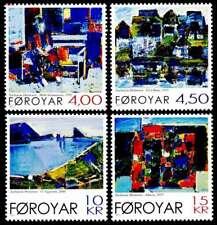 Faroe Islands 2001 Art, Paintings by Zacharias Heinesen to 15Kr, UNM / MNH