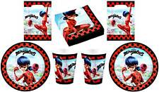 Miraculeuse Coccinelle Set de Fête Serviettes Table Plaque Tasses Sacs Vaisselle