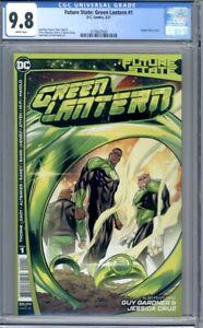 Future State: Green Lantern #1  DC Comics Guy Gardner Jessica Cruz   CGC 9.8