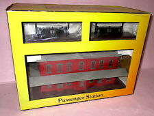 "MTH 30-9014 PASSENGER STATION /Dual Extended Platforms RED & GRAY ""O"" NEW IN BOX"