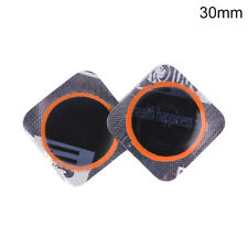 10Pcs 25mm/30mm Bicycle Bike Repair Fix Kit Flat Rubber Tire Tyre Repair PatchAT