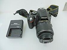 Nikon D D5100 16.2MP Digital SLR Camera - Black (Kit w/ AF-S DX VR 18-55mm