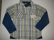Mayoral great Shirts shirt SIZE 122 Blue-White-Green-Red Check!!!