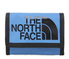 BNWT The North Face Base Camp Tri Fold Wallet - Blue
