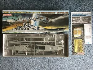 Dragon 1/700 'Sink the Bismark' Ship & Plane Combo model kit #7125
