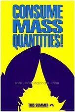 CONEHEADS Movie POSTER 27x40 Dan Aykroyd Jane Curtin Laraine Newman Jason