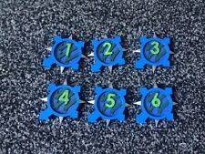 Warhammer 30k Well Painted Alpha Legion Objective Markers