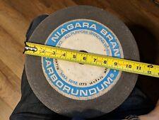 "MAXIMUM RPM 6207 CARBORUNDUM GRINDING WHEEL PA100-I8-V40 4/"" x 1//2/"" x 1-1//4/"""