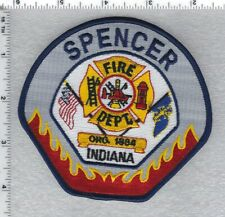 Spencer Fire Department Indiana) Shoulder Patch version 2