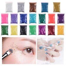 100g Nail & Body Art Metallic Glitter Powder Dust Gem Craft Card Decorating/ AU