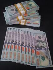 20x $100 dollar bills Best Novelty Prop Play Joke Prank Money Not Legal Tender
