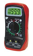 MAS830L - Digital Volt, Ohm, Milliamp Meter VOM - MultiMeter with Test Leads