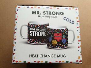 Paladone. Mr Strong - Heat Change, Ceramic Mug. New in box.