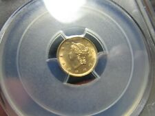 GOLD  $1.00 LIBERTY HEAD GOLD DOLLAR  1853  A VERY NICE GEM & PRE CIVIL WAR