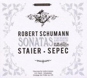 Robert Schumann (1810-1856) • Sonatas for Piano and Violin CD