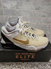 Nike Kobe Zoom VII System Elite White Home Size 13 Mamba Lakers Mamba7