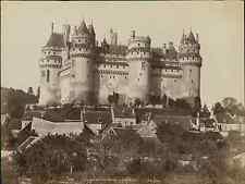 ND, France. Château de Pierrefonds. CoCôté Nord  Vintage albumen print. Tirage