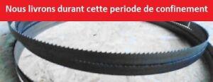 Bi-métal lame scie ruban 1430mm 13mm 14tpi M42 fabrication allemande quality pro