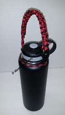Paracord Handle for Water Bottles, Hydro Flask, & insulated Sports bottles.