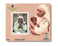 Mother Teresa 1997 mnh 45 Rs Commemorative Stamp