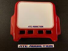 ATC Addiction Number Plate by Maier RED. Honda 3 Wheeler 250R 350X 200X NOS