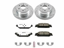 For 2015-2016 Chevrolet Tahoe Brake Pad and Rotor Kit Rear Power Stop 33193KV