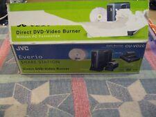 JVC DVD Burner Model CU-VD20 EVERIO Share Station Direct DVD-Video Burner