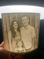 Personalized - Custom 3D Lithophane Nightlight