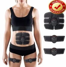 Ems Massage SixPack Pad Abs Fit Body Lift Muscle Stimulator Fat Loss Trainer