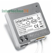 Intertechno variateur sans fil Itl-210 Max. 210 Watt Brevet Mondial en