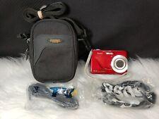 Kodak EasyShare C180 10.2MP Digital Camera - Red, Bundle