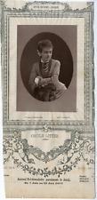 Lemercier, Paris, Artiste, Opéra-National-Lyrique, Cécile Ritter (1859-1939) Vin