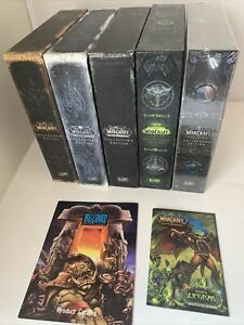 World of Warcraft Collectors Edition Lot - Lot Of 5 Boxes Classic Wow