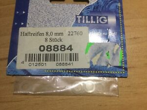 Haftreifen 8,00 mm  8 Stück 08884 Tillig