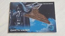 Topps Star Wars Rogue One Darth Vader Imperial Star Destroyer Medallion Card