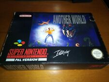 Another world-snes pal esp spain Erbe-super nes-super nintendo