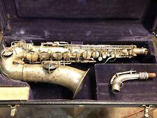 1926 Conn Chu Berry Alto Saxophone Repair Project