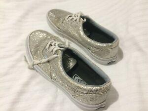 vans donna argento