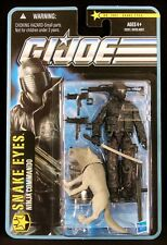 "2010 HASBRO GI JOE 3 3/4"" PURSUIT OF COBRA POC 1002 SNAKE EYES ACTION FIGURE MOC"