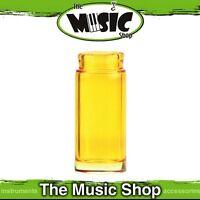 Brand New Jim Dunlop 277Y Blues Bottle Regular Glass Yellow Guitar Slide - J277Y