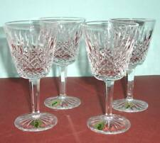Waterford Bunclody Claret Wine Set of 4 Glasses Crystal Made in Ireland New