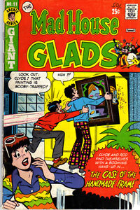 MAD HOUSE GLADS #91 - 1973 - Vintage ARCHIE Comic VG