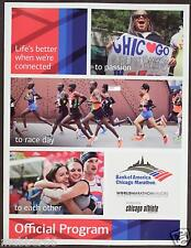 36th ANNUAL CHICAGO BANK OF AMERICA MARATHON OFFICIAL PROGRAM 2013 MAGAZINE NEW
