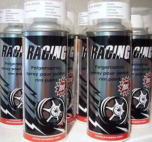 Auto K Racing Felgenspray Klarlack / Felgenklarlack  6 x400ml